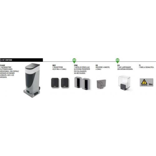 NICE SLH400KCE SlightKit Kit scorrevoli fino a 400Kg