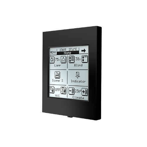 zennio touch screen z38i knx acquista online. Black Bedroom Furniture Sets. Home Design Ideas