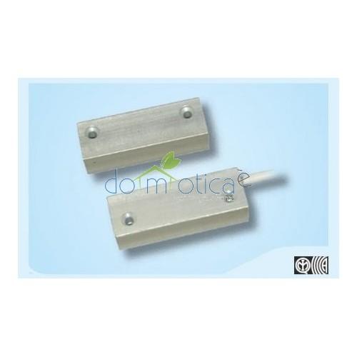 Ctc006 contatti magnetici per porte e avvolgibili - Contatti magnetici per finestre vasistas ...
