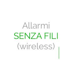 Allarmi Senza Fili (Wireless)