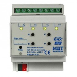 Attuatori con canali indipendenti e misurazione di corrente