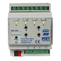 Attuatori KNX dimmer con uscita 0-10V