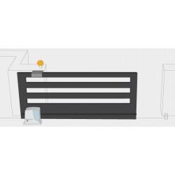 Nice - Uso residenziale, montaggio integrabile su colonna