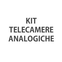 KIT Telecamere Analogiche